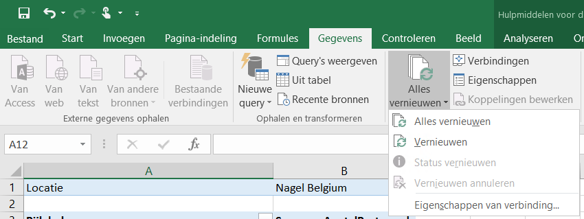 Microsoft Excel Firmware